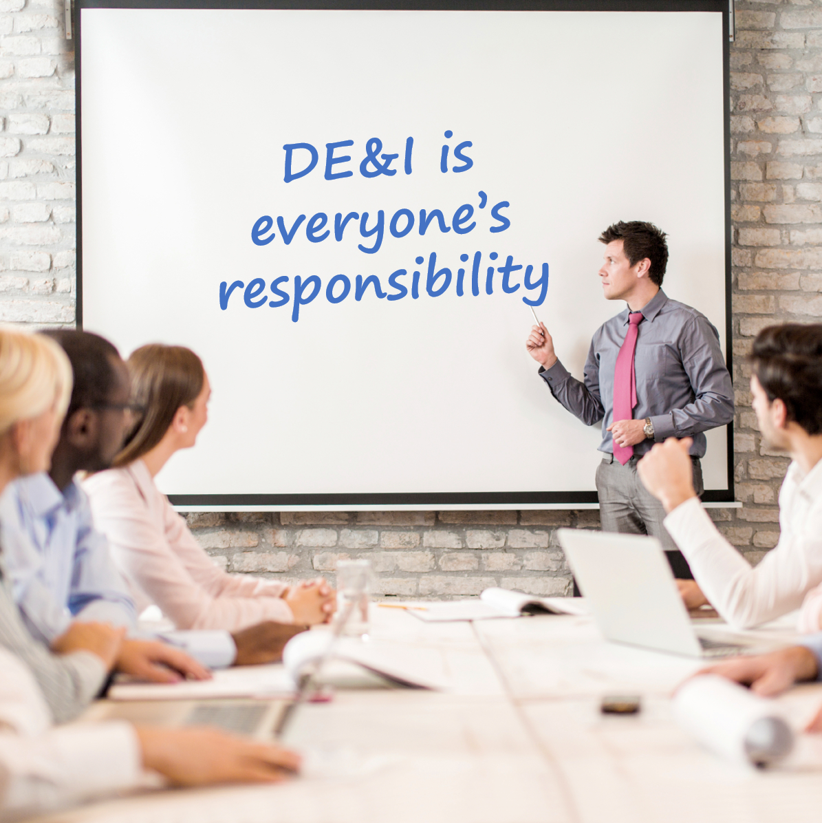 how to add DEI when presenting to unknown audience