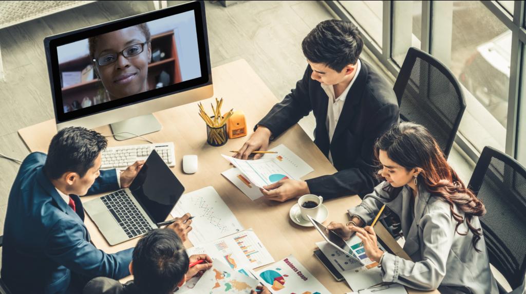 successful hybrid meetings in hybrid work model