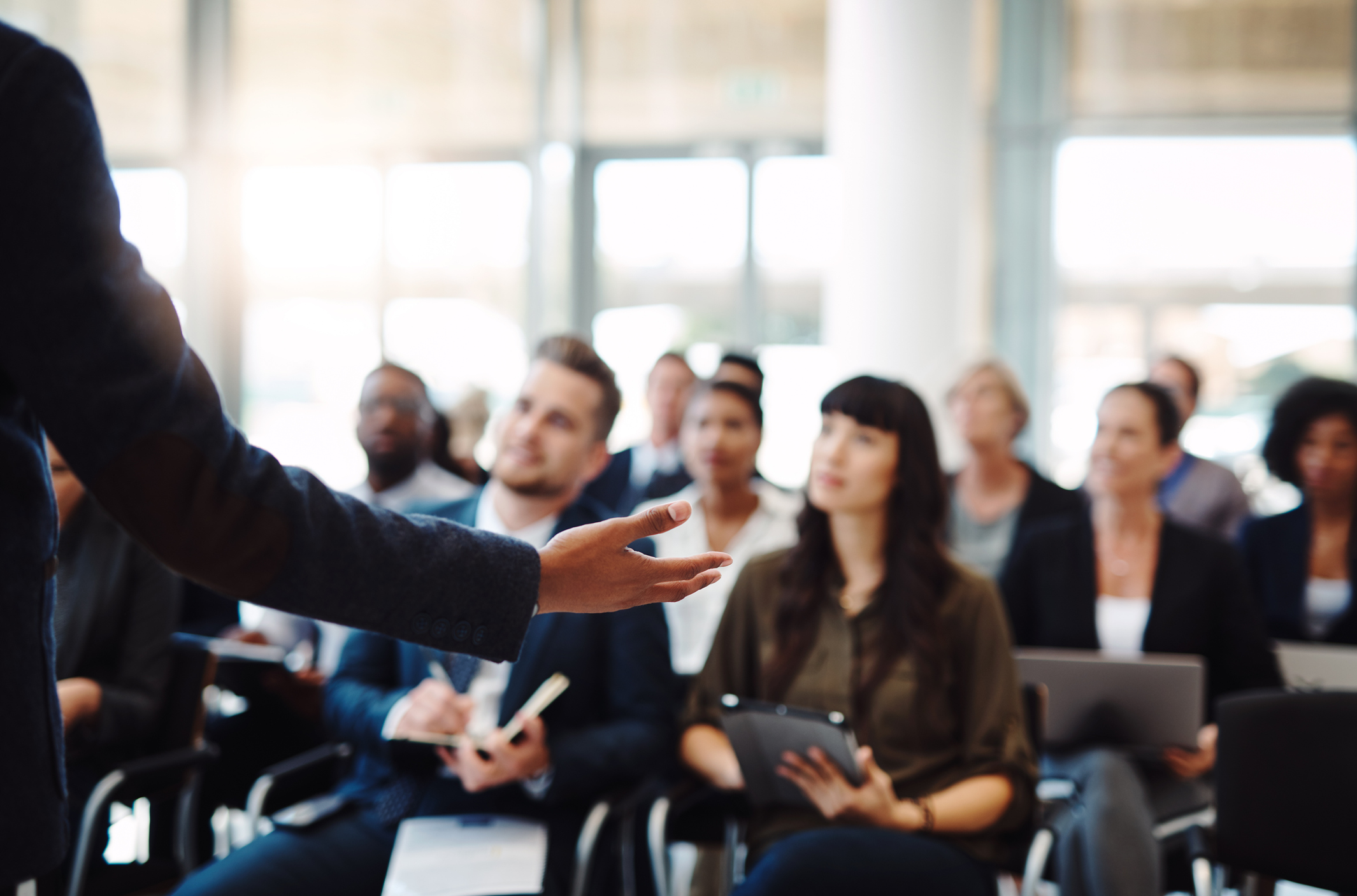 how to analyze audience for effective conference presentation