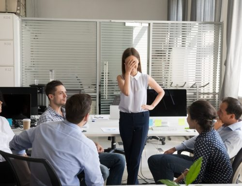 4 Things Nervous, Over-Preparing Presenters Can Do to Calm Down and Engage